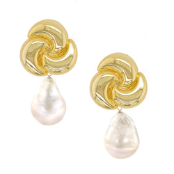 Fallon Pearl Statement Earrings