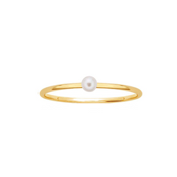Pearl Stacking Ring - Rings - MOD + JO
