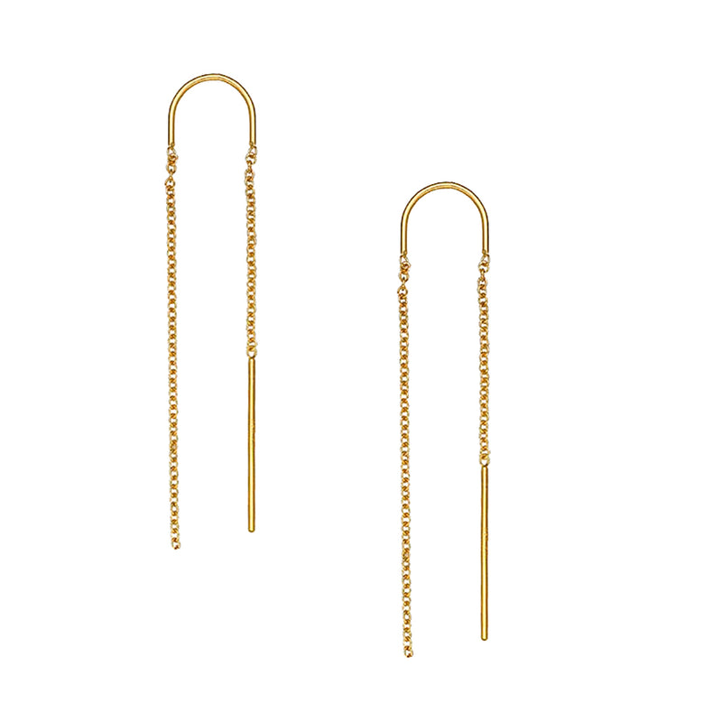 Eliza Threader Earrings