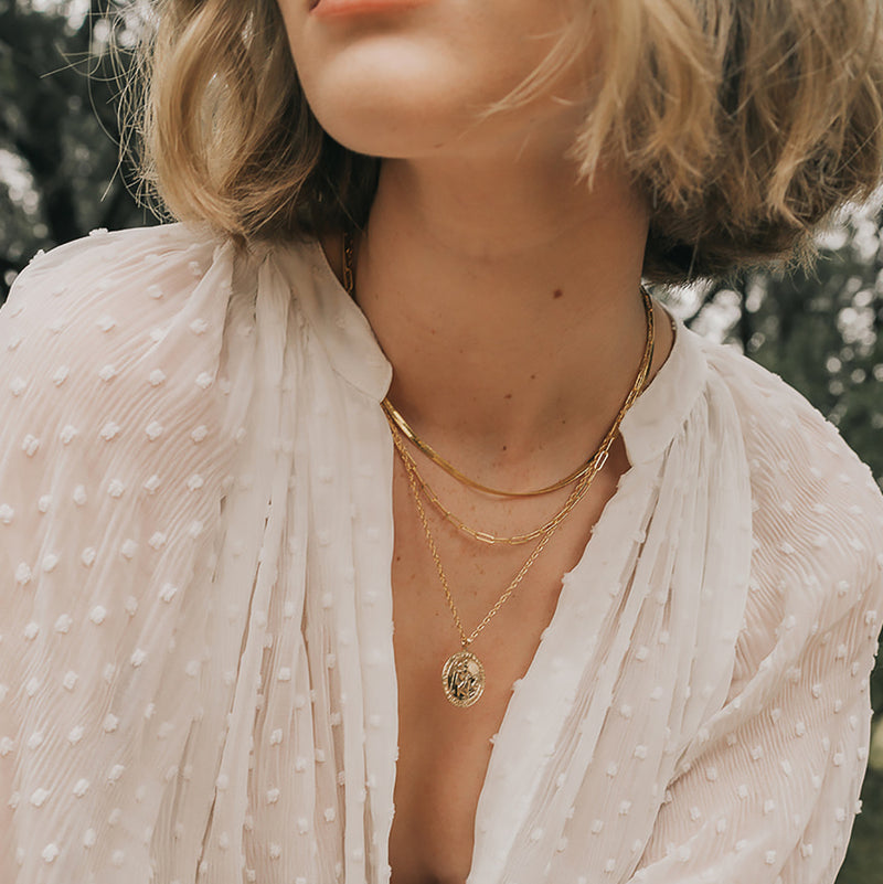 Florence Herringbone Necklace