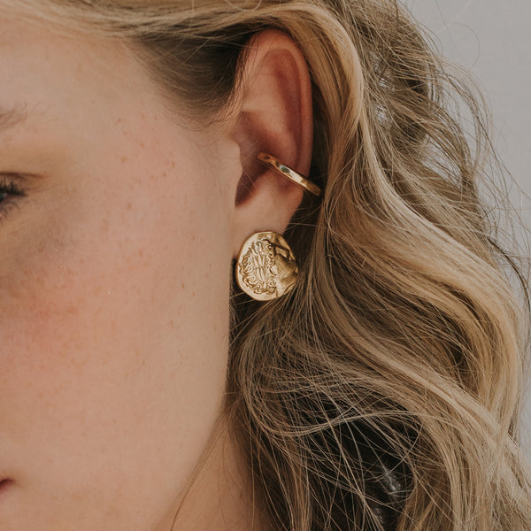 Lyra Statement Studs