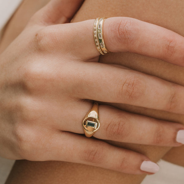 Quin Stacking Ring