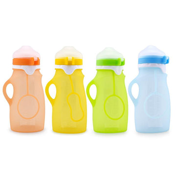 Haakaa Silicone Squeeze Bottle 9 oz 1 pk