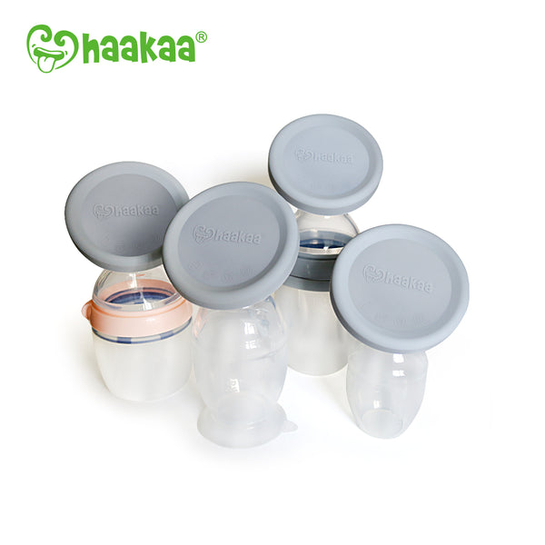 Haakaa Gen 2 Silicone Pump with Silicon Lid 1 Set