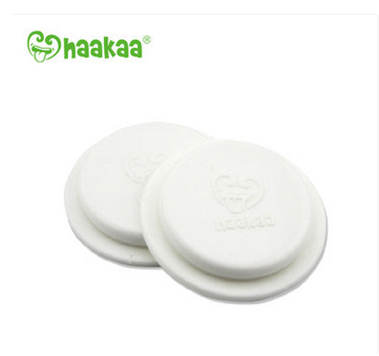 Haakaa Silicone Wide Neck Bottle Sealing Disks 2 pk