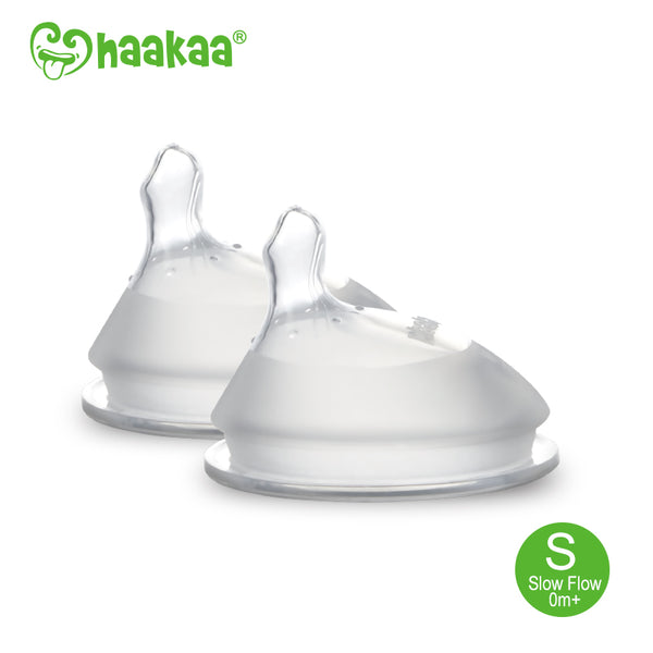 Haakaa Gen 3 Silicone Orthodontic Anti-Colic Nipple 2 PK