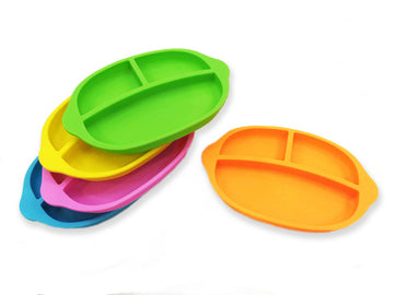 Haakaa Silicone Divided Plate 1 pk (More Colors)