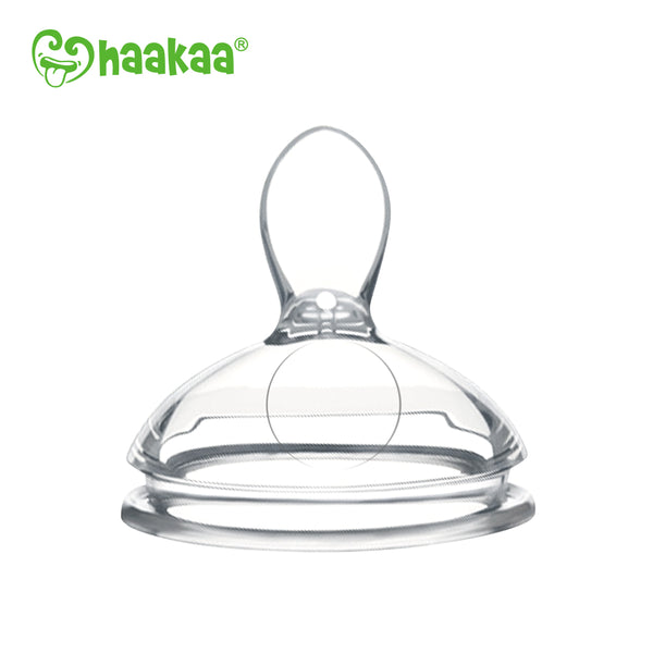 Haakaa Silicone Feeding Spoon Head  for Gen 3 Bottle, 1 pk