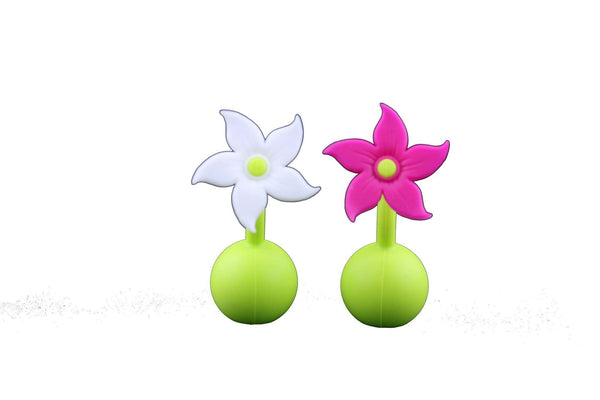 Haakaa Silicone Breast Pump Flower Stopper 1pk (More Colors)