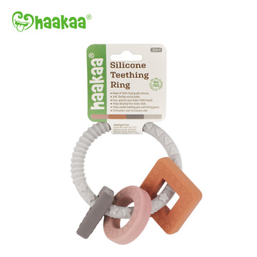 Haakaa Silicone Teething Ring 1 PK