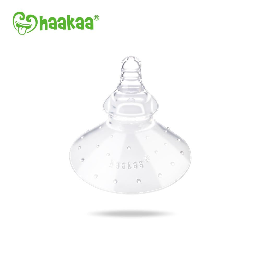 Haakaa Silicone Nipple Shields Round Shape 1 pk (Pre-Order)