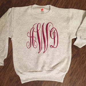 Kids Monogram Sweatshirt