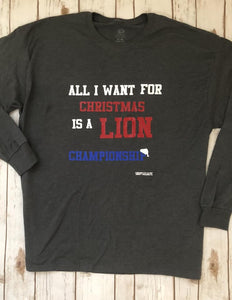 All I want for Christmas Play-Off shirts