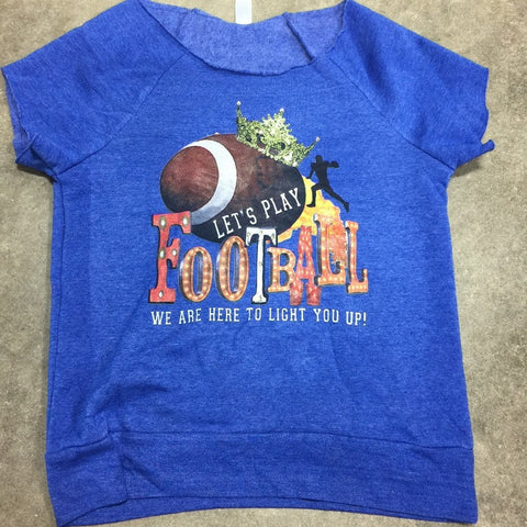 Lets Play Football Sweatshirt