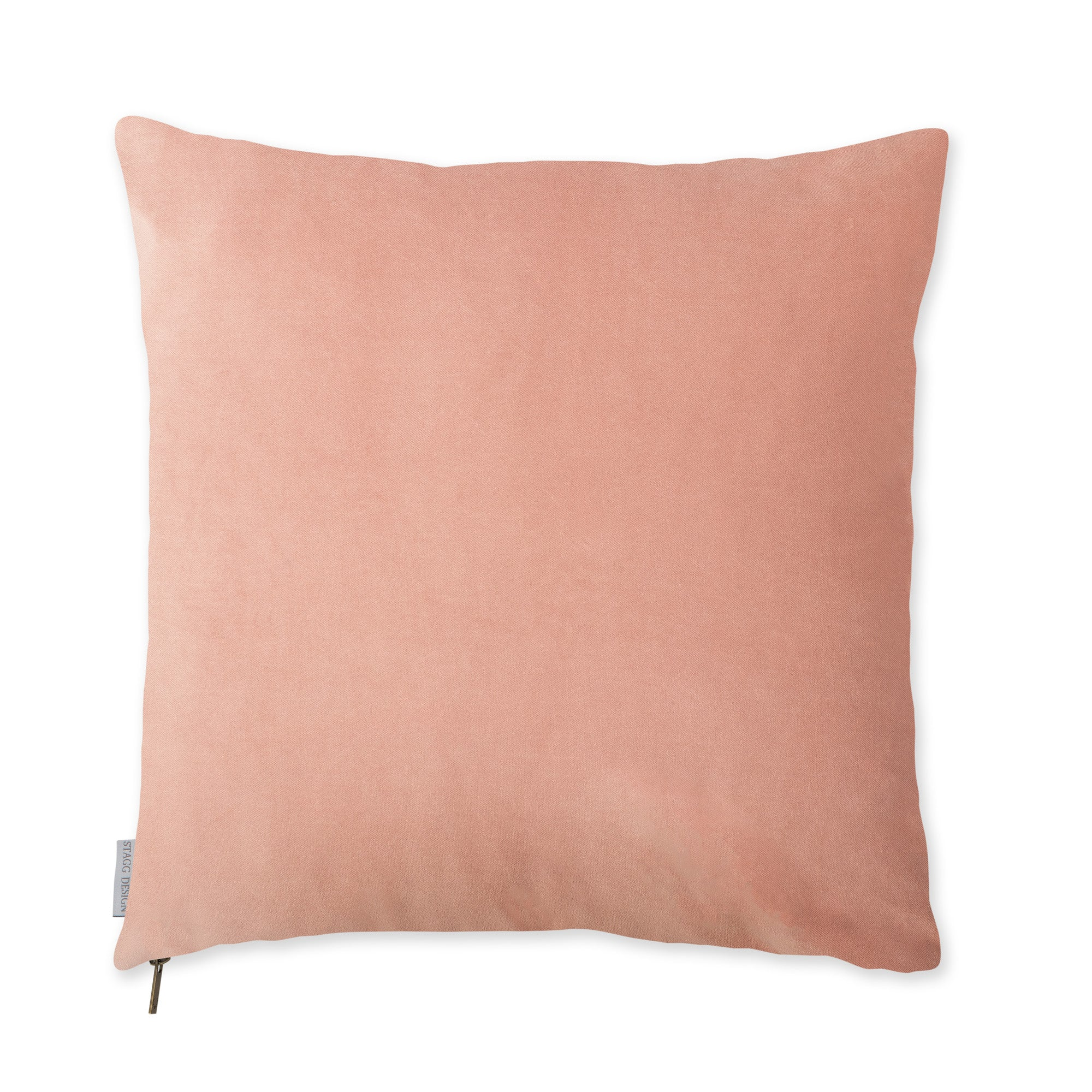 Tea Rose Velvet Pillow