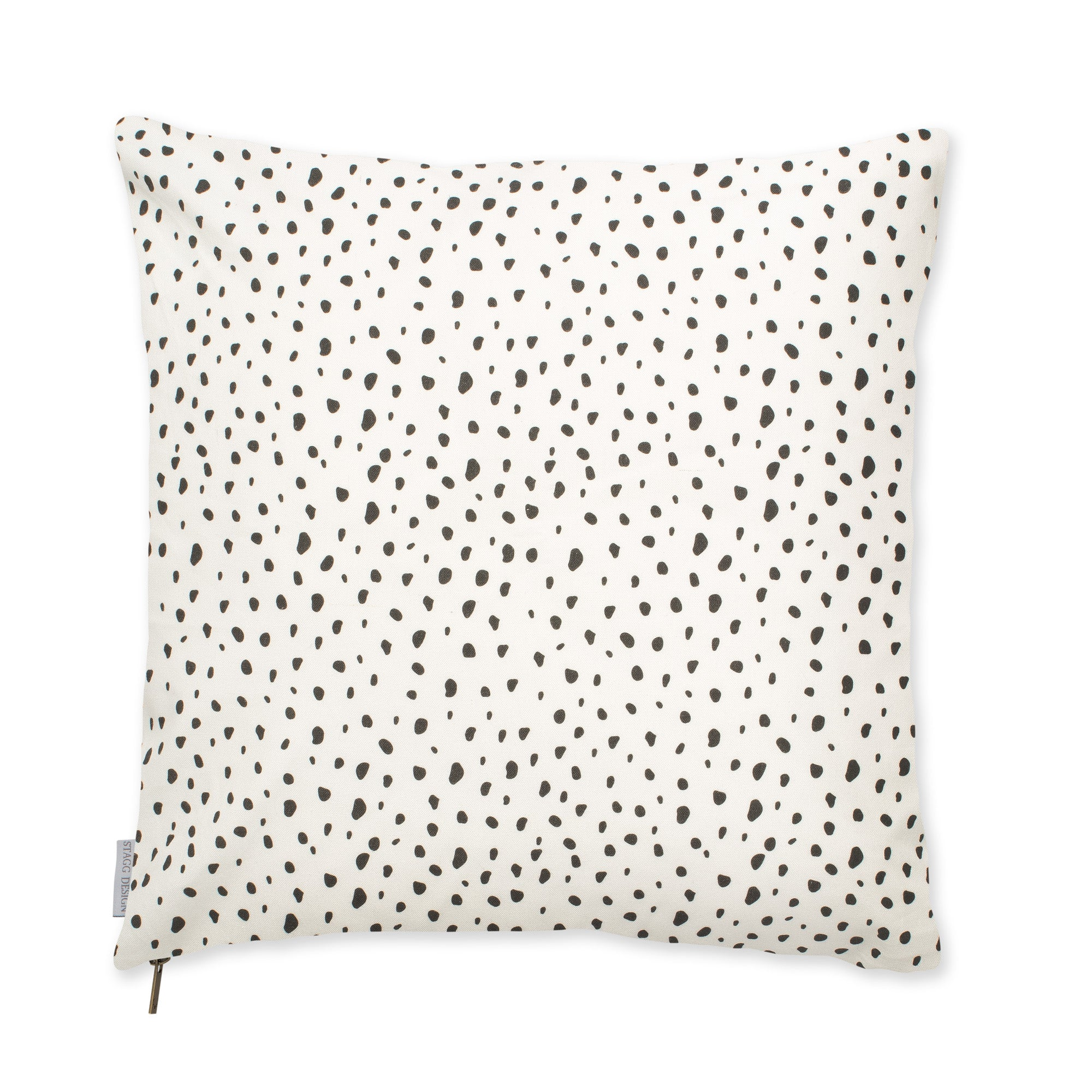 Modern Dot Pillow - Black