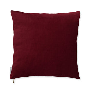 Wine Velvet Pillow
