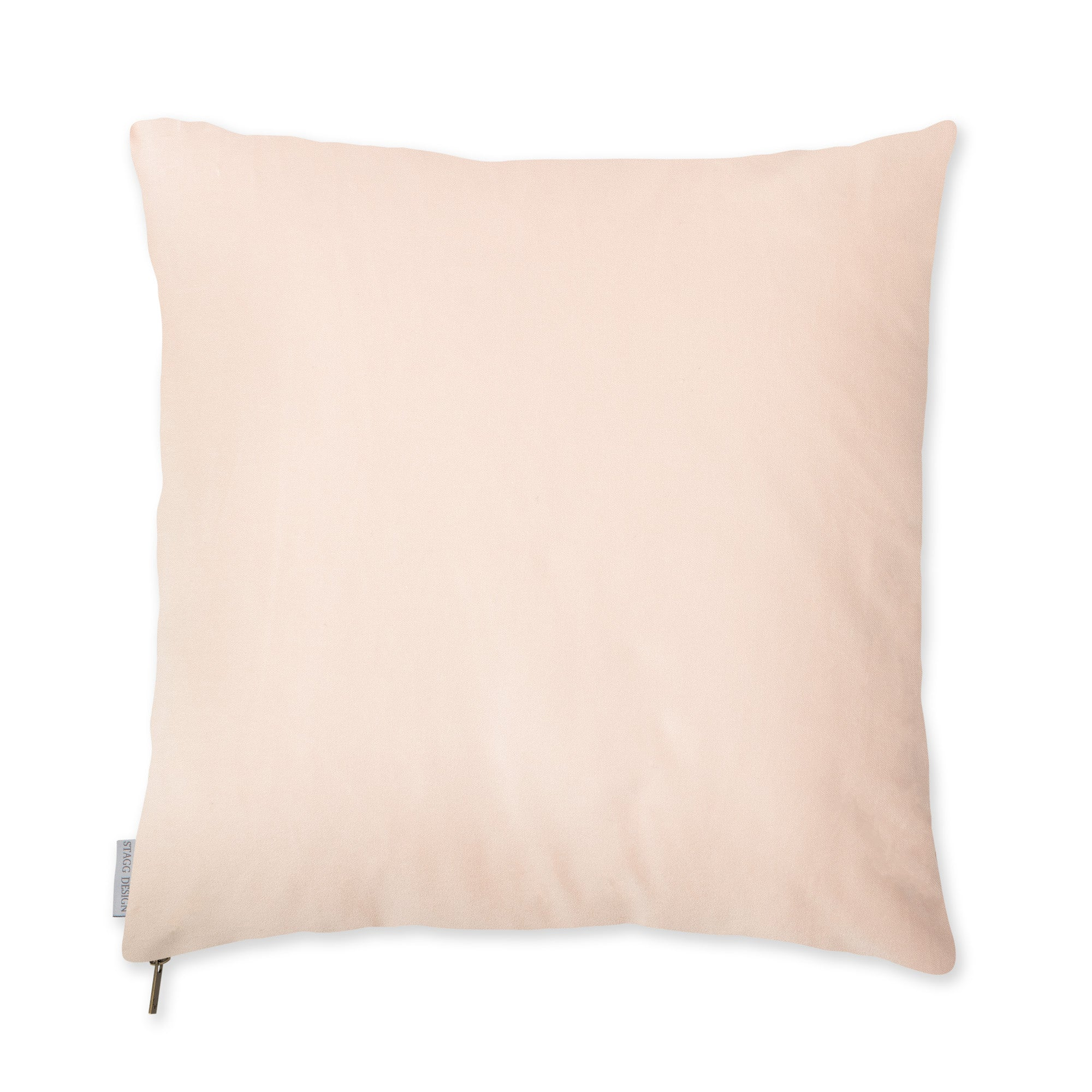 Powder Pink Velvet Pillow