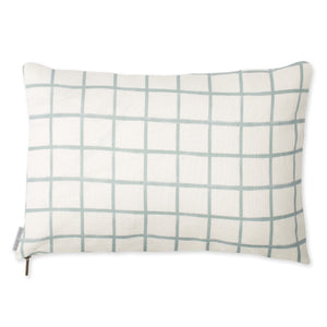 Chase Plaid Pillow - Sky