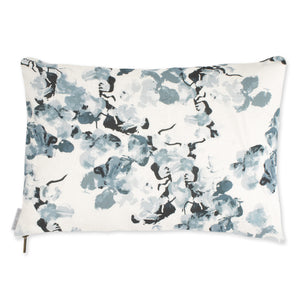 Anna Floral Pillow - Indigo