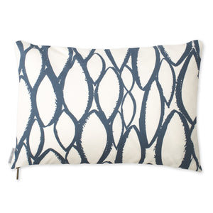 Droplet Pillow - Navy
