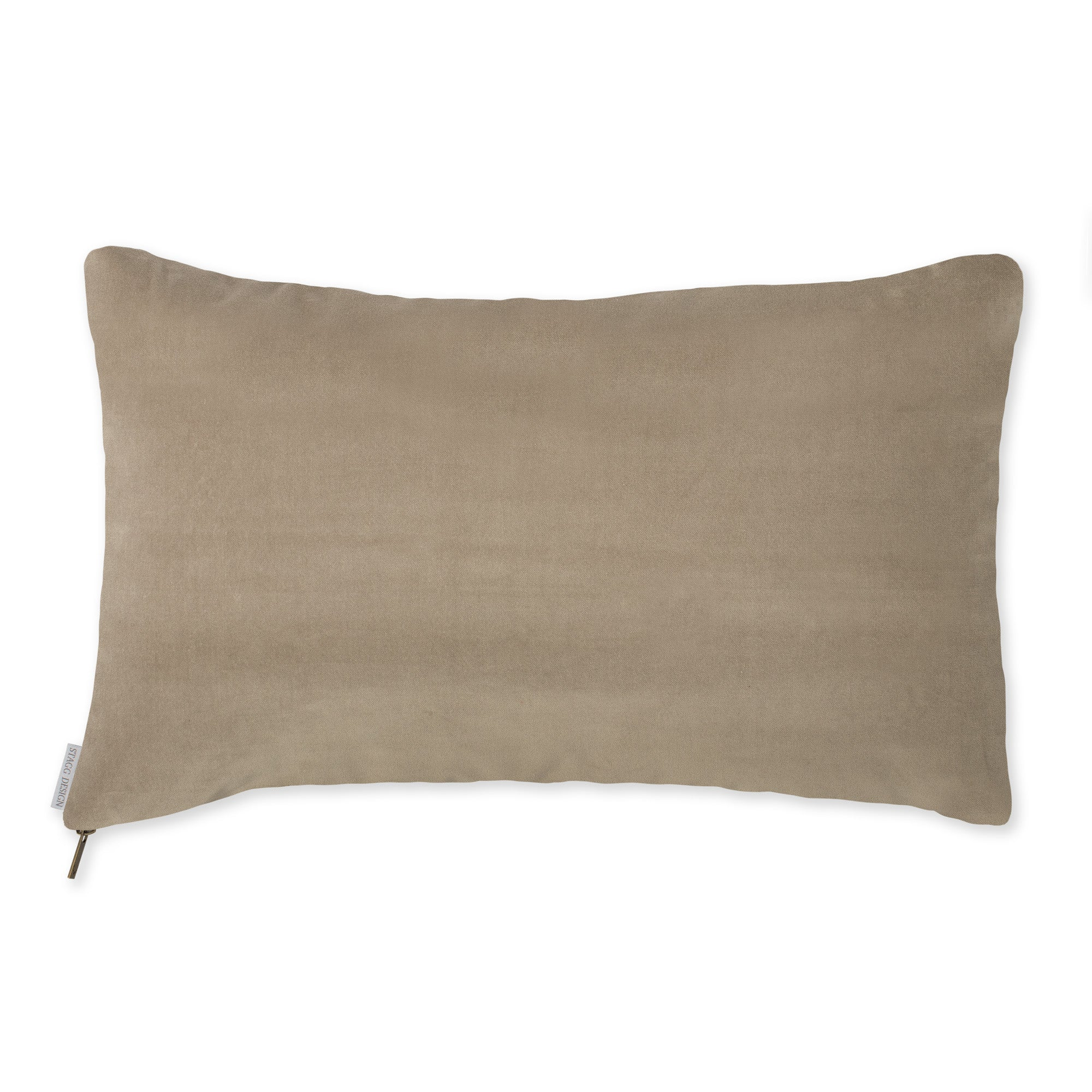 Pearl Grey Velvet Pillow