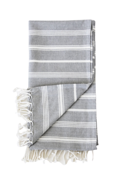 Claude Striped Throw
