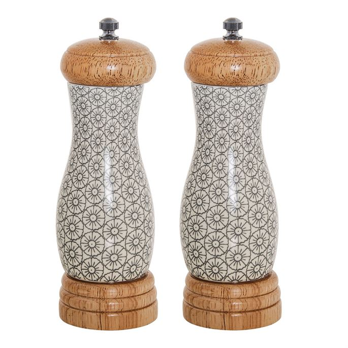 Bluebell Salt and Pepper Mills