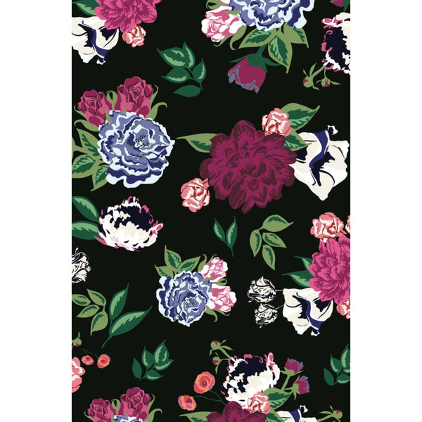 Vivienne Floral Fabric - Berry