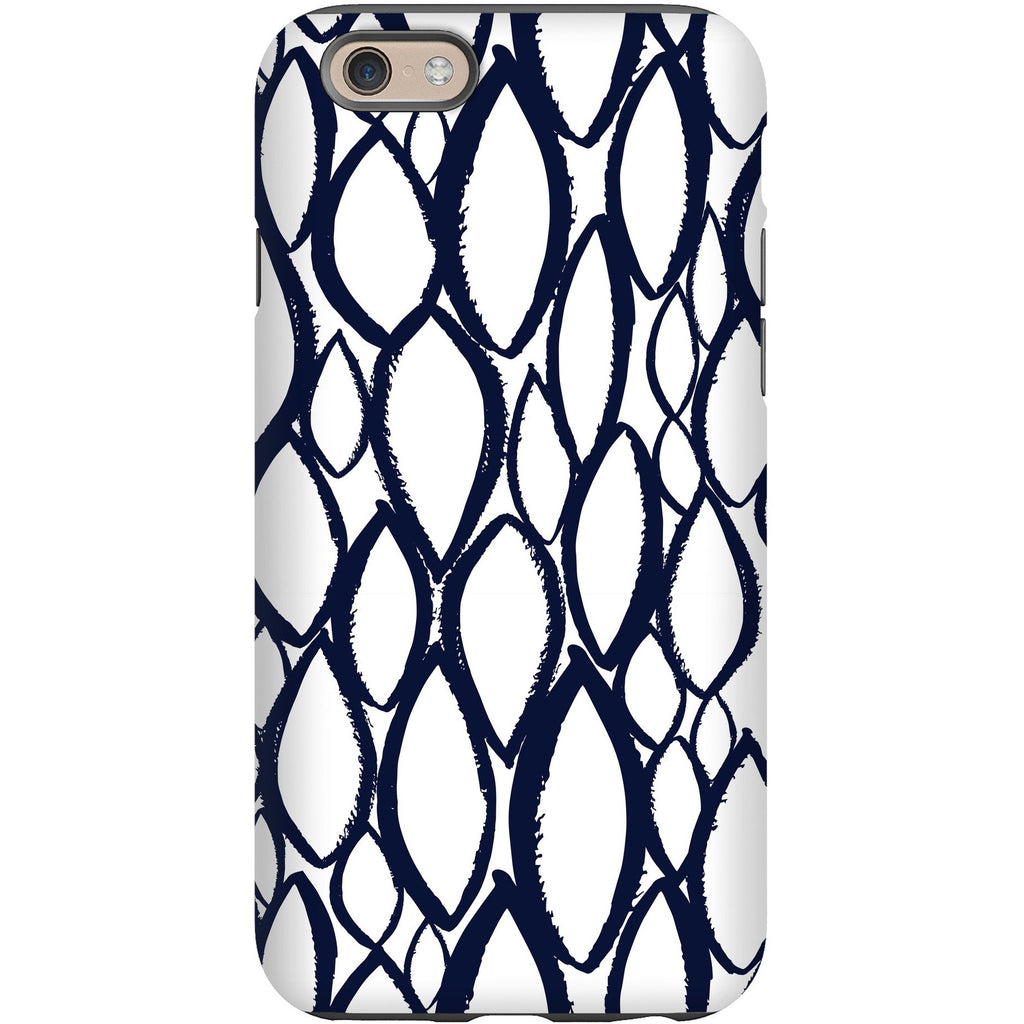 Phone Case - Navy Droplet