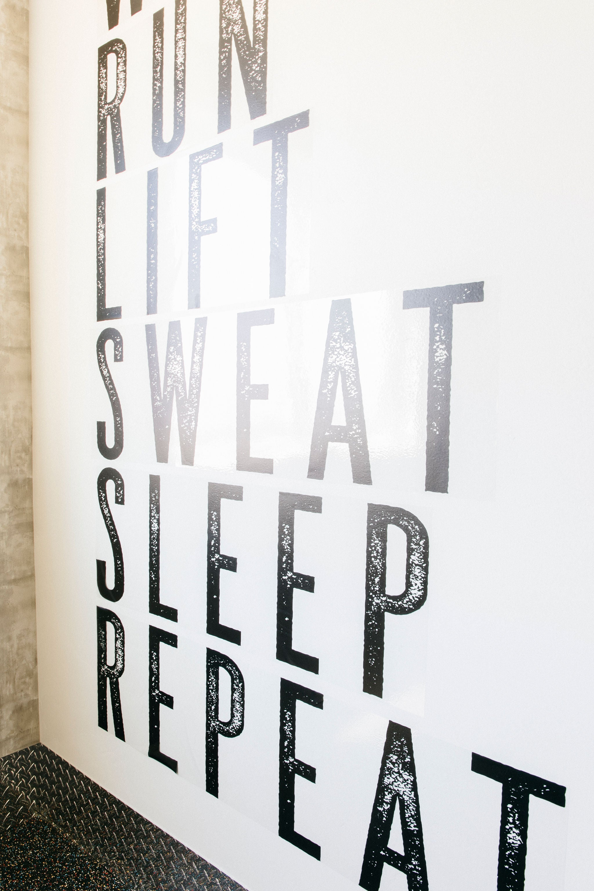 Workout Motivation Decal Set