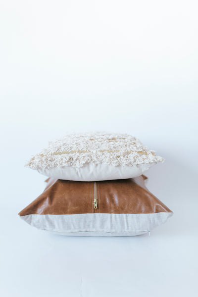 Sequin Fringe Pillow
