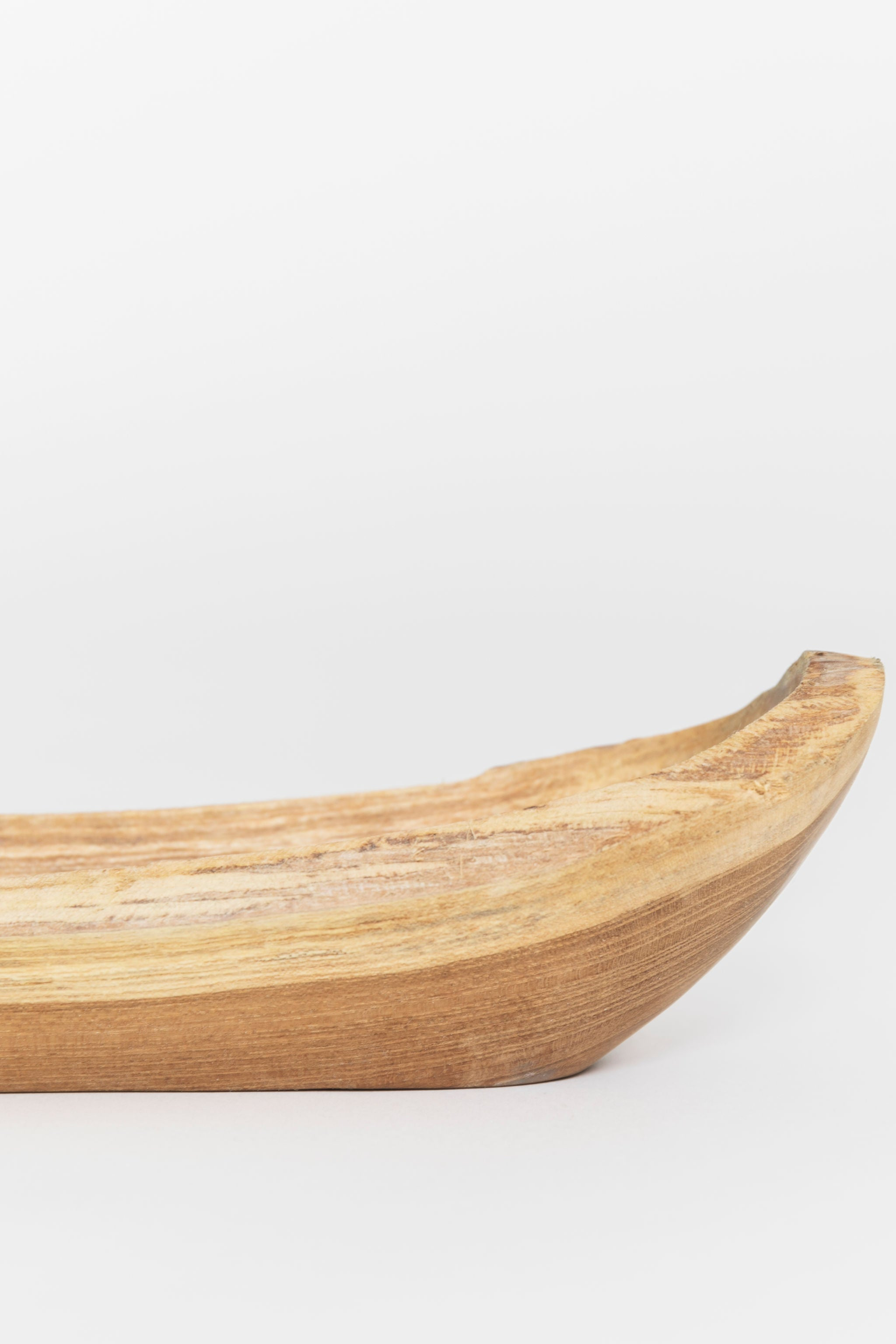 Hand Carved Teak Wood Bowl