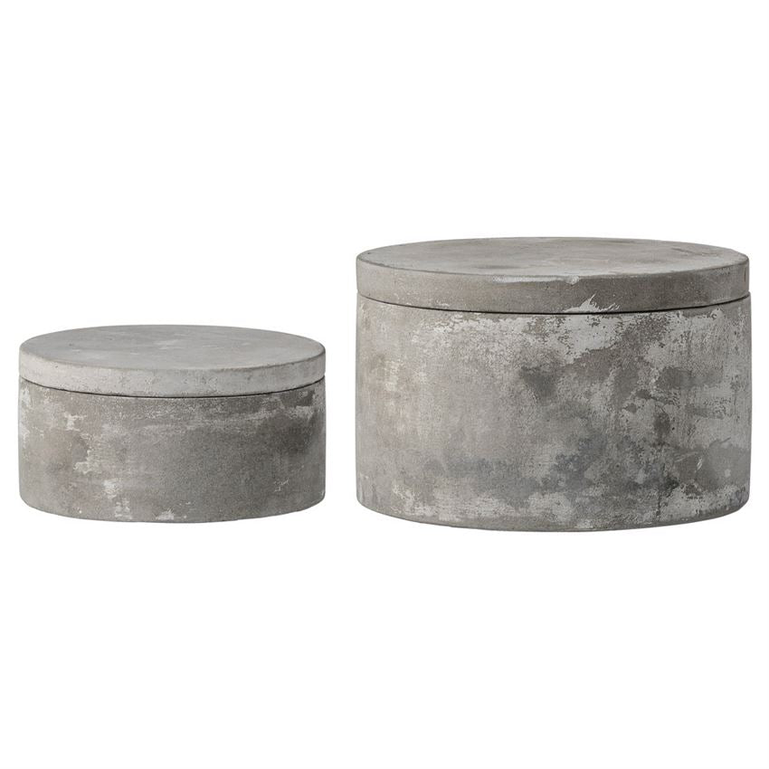 Round Cement Boxes