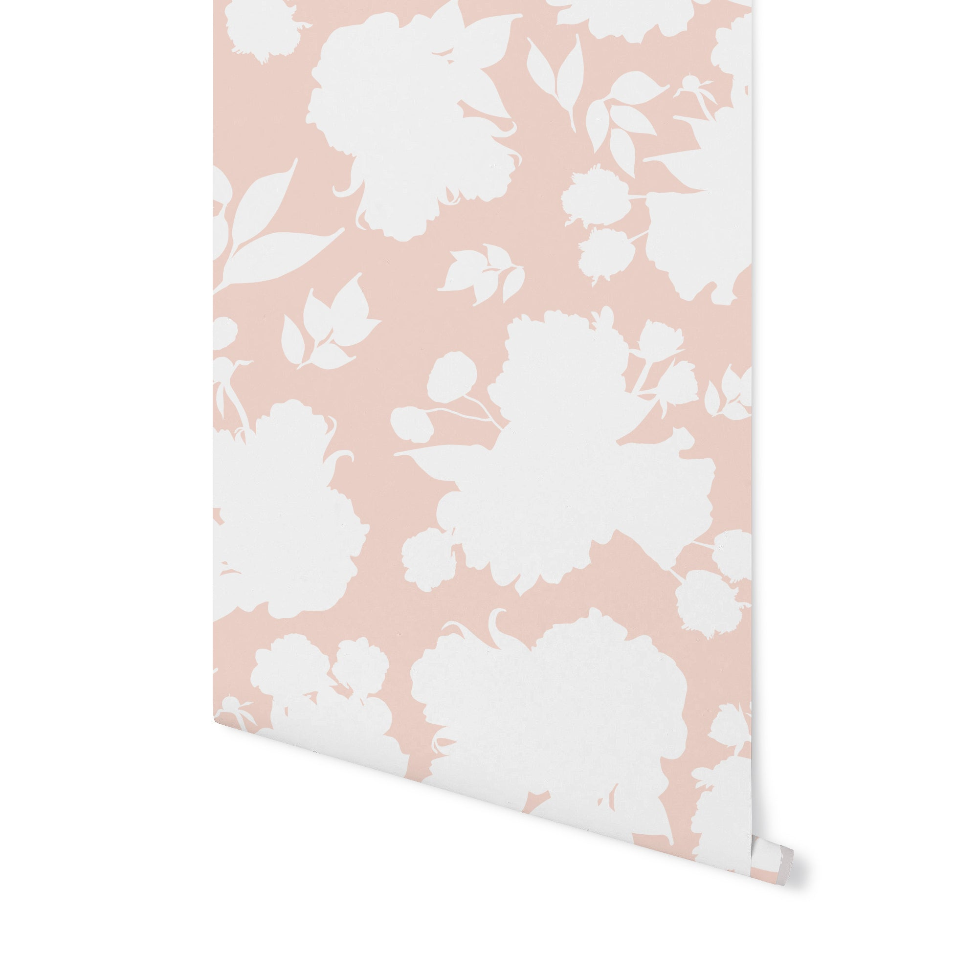 Vivienne ShadowPlay Floral Wallpaper - Blush