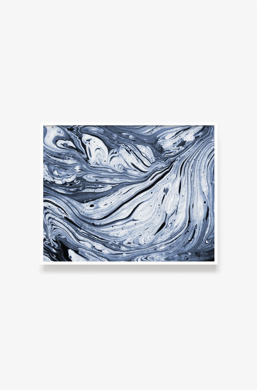 Marbleized Ink Art Print