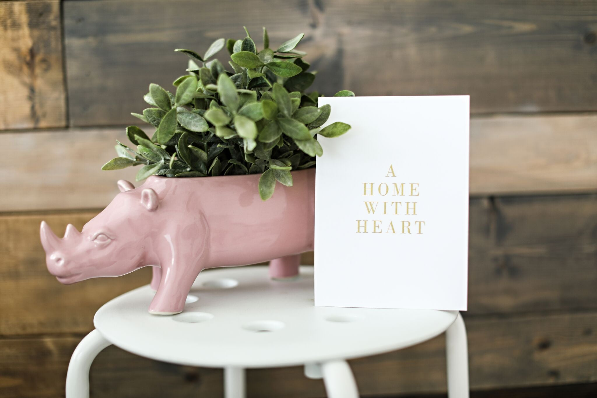 A Home With Heart Print