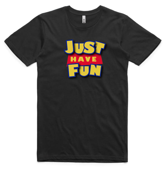 Just Have Fun Toy Story Logo T-Shirt