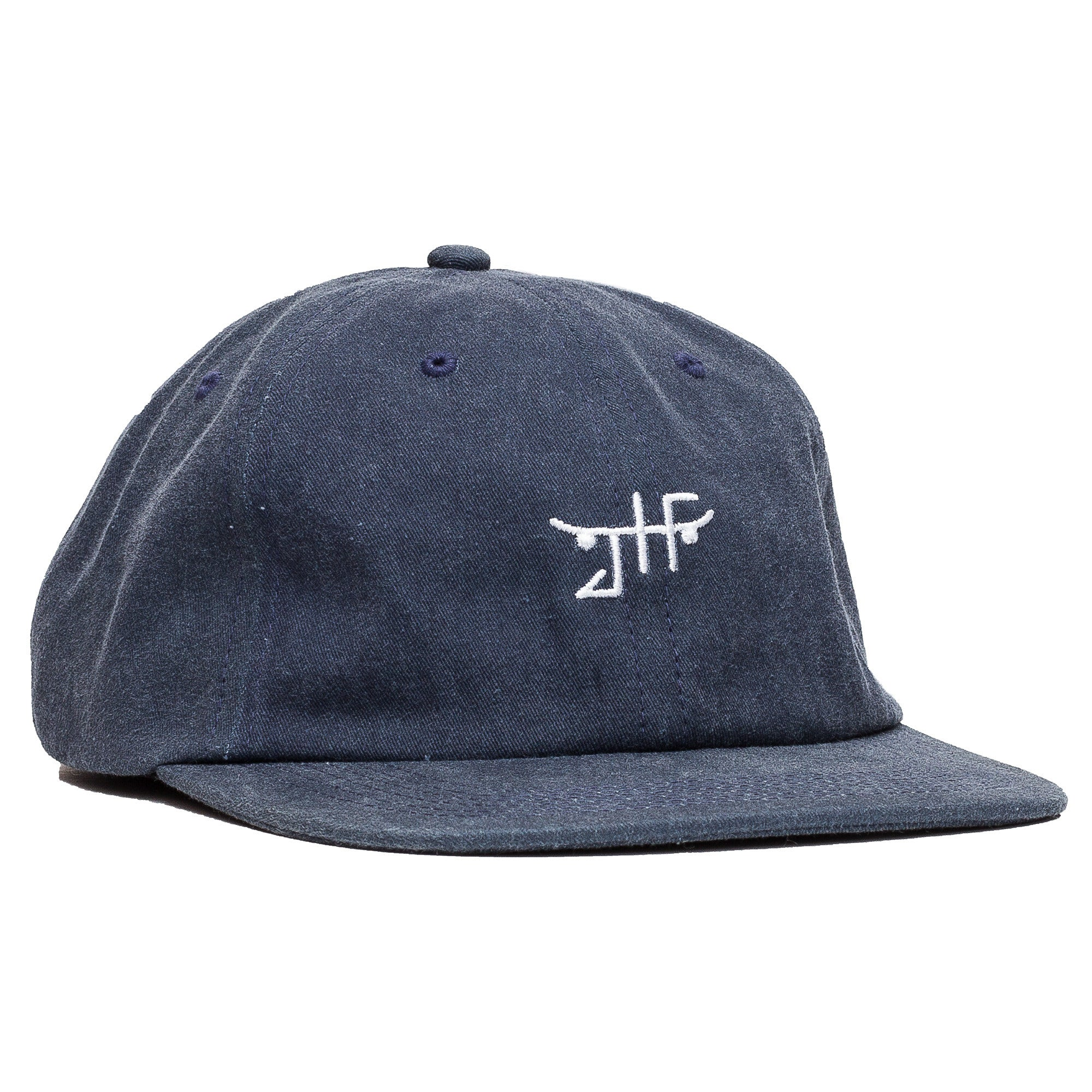 Unconstructed Strapback in Navy