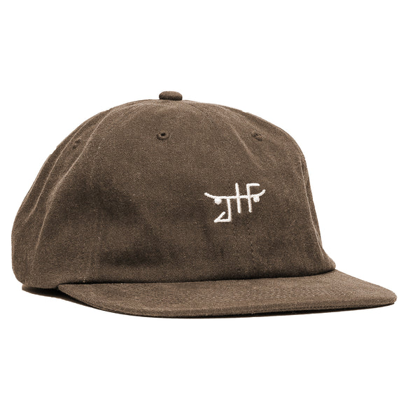 Unconstructed Strapback in Brown