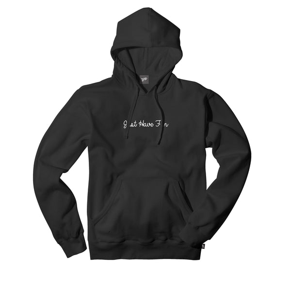 JHFamily Embroidered Hoodie Black
