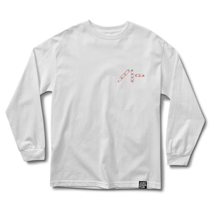 Wordsearch LS Tee White