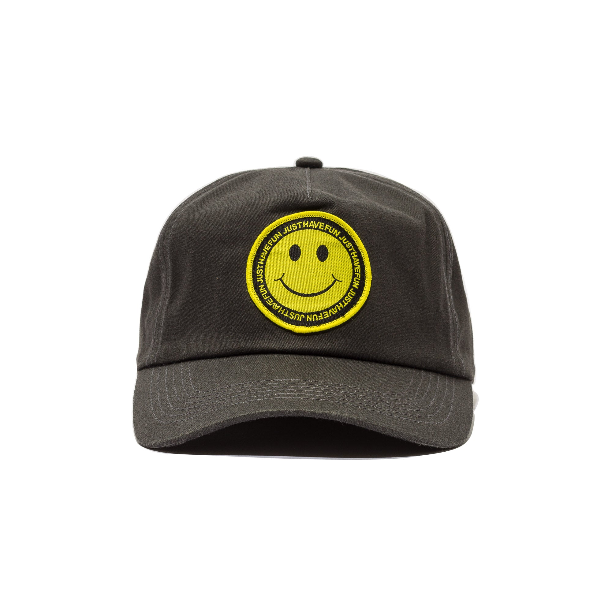 Have A Nice Day Snapback Black