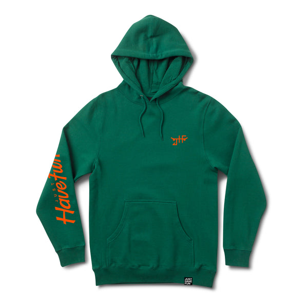 Teamed Up Hoody FOREST GREEN