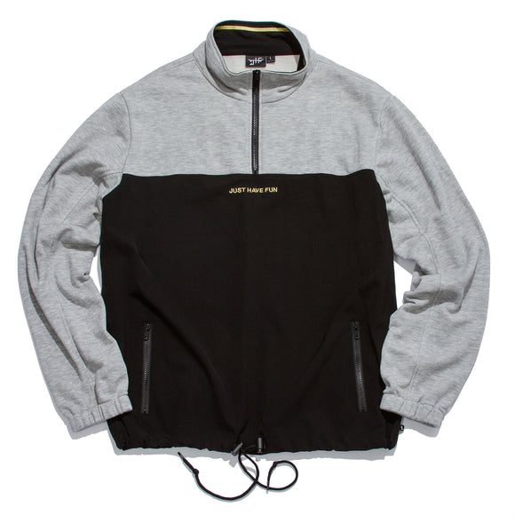 Movementum Half Zip Black