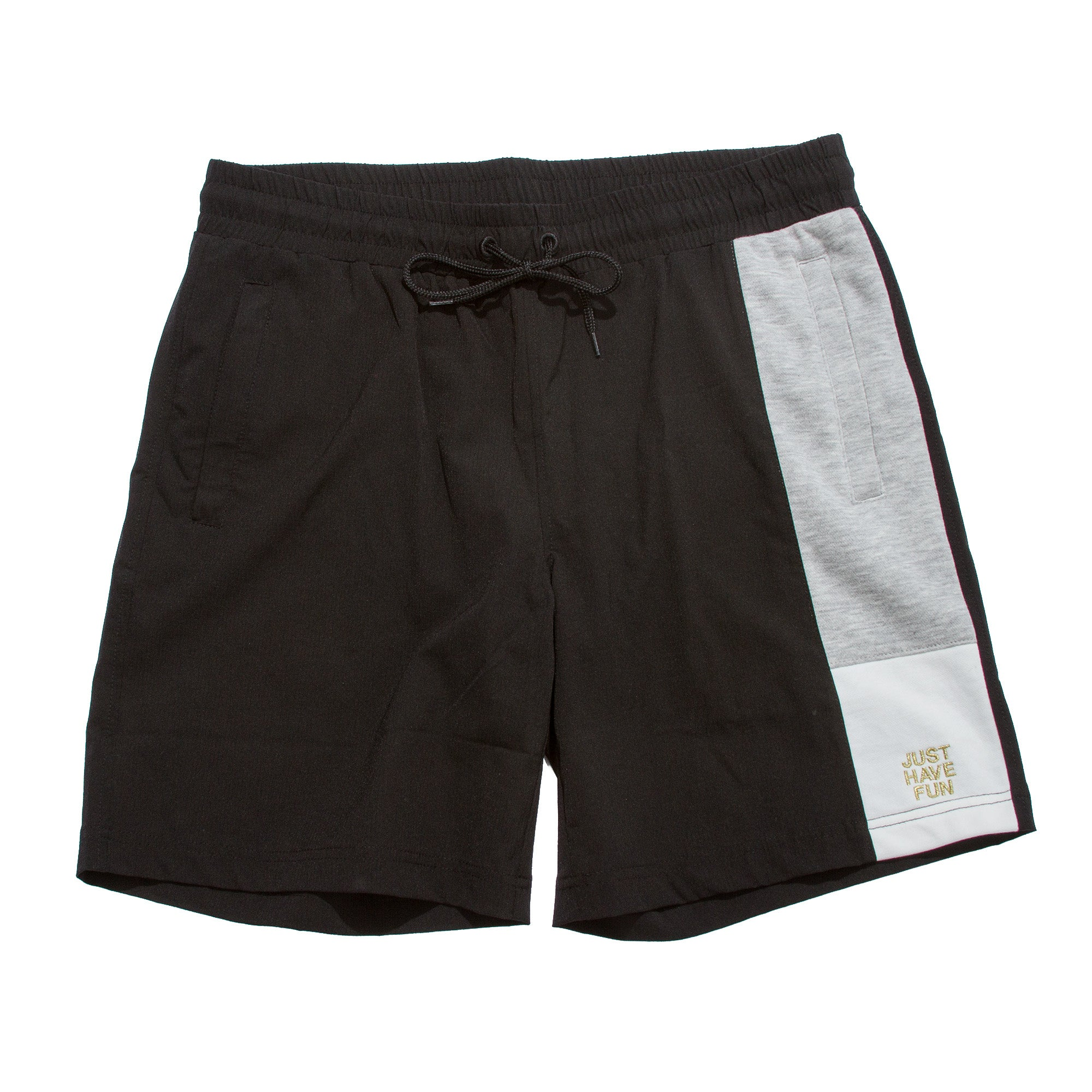 Waterfront Warm Up Short Black