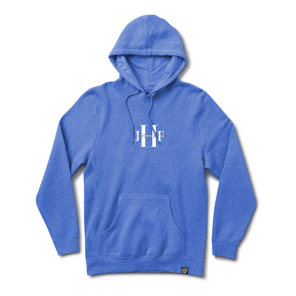 Stoned Washed Hoodie Washed Blue