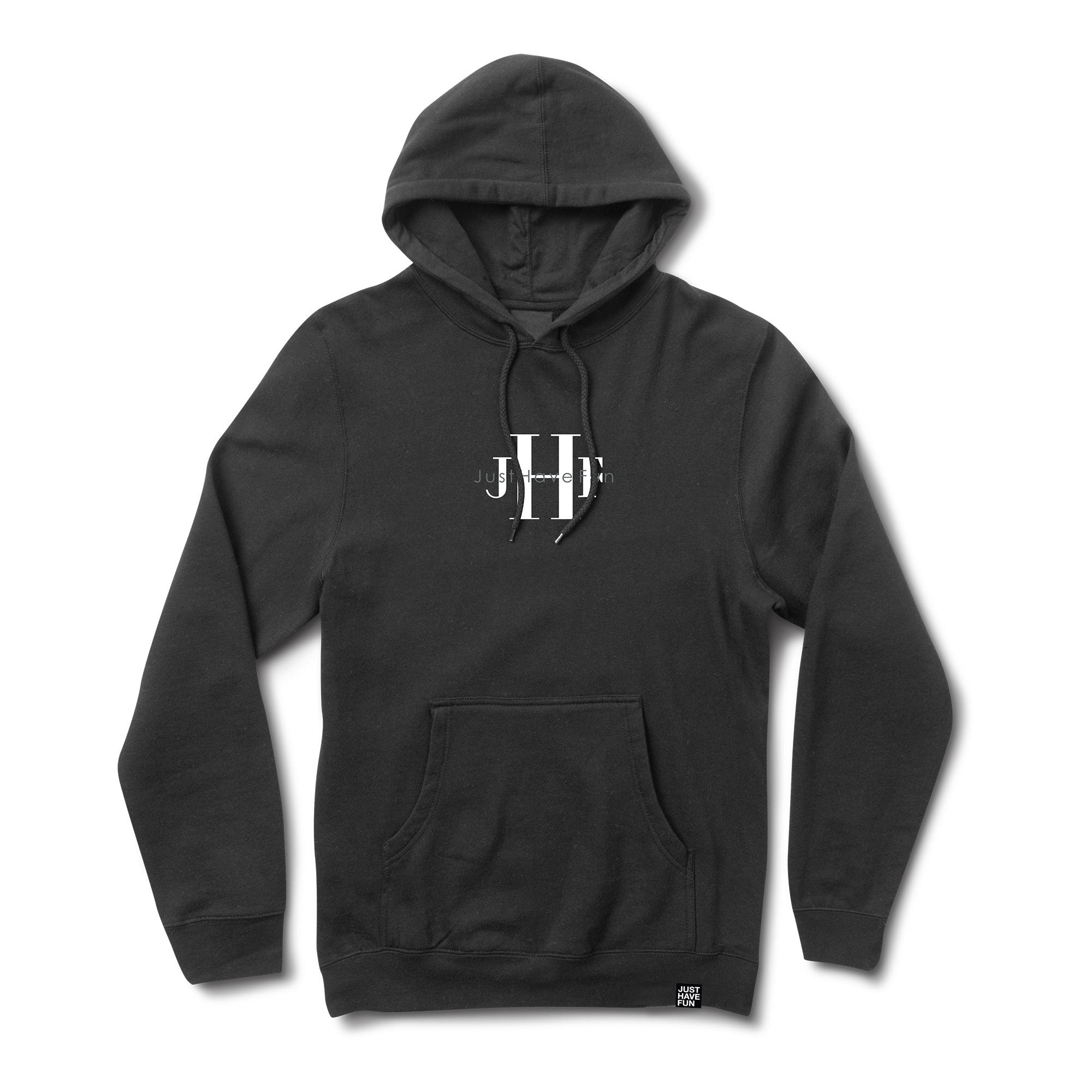 Stoned Washed Hoodie Washed Black