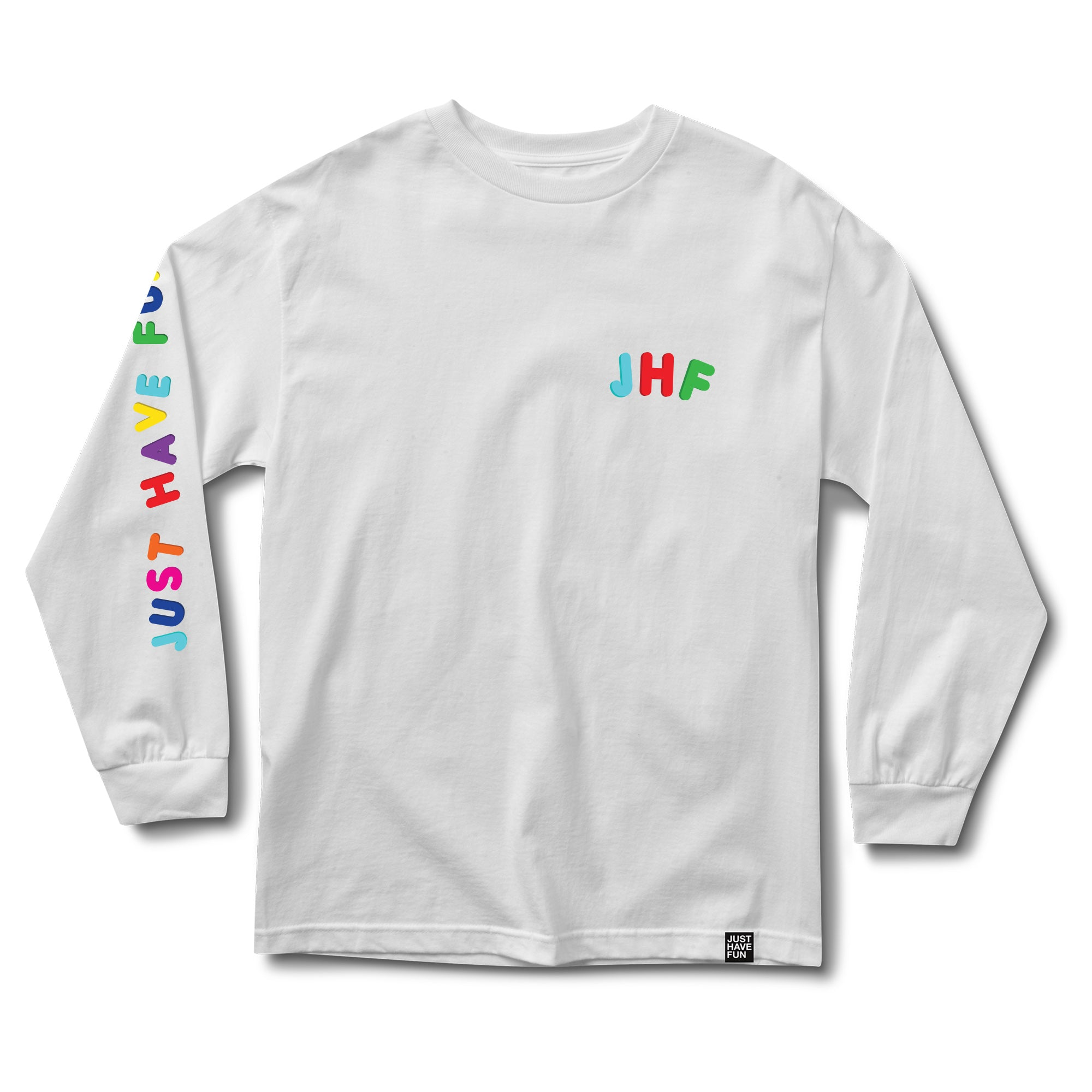 Hold Up Long Sleeve White