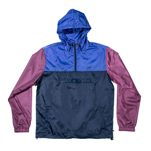 Happy Camper Jacket Navy/Burgundy